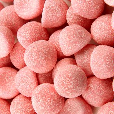 Pink Strawberry Gummy Marshmallows