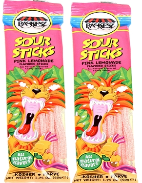 1.75 oz Sour Sticks - Pink Lemonade - 3-Pack