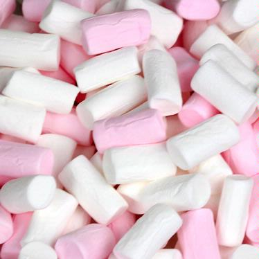 Mini Pink and White Marshmallows