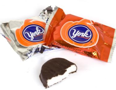 York Halloween Peppermint Pumpkin Patties - 11 oz Bag