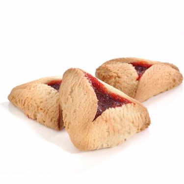 Raspberry Hamantashen