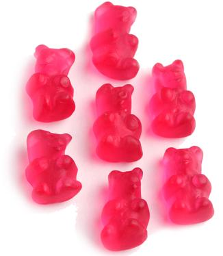 Red Gummy Bears - Cherry