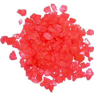 Red Rock Candy Crystals - Strawberry