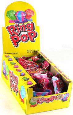 Candy Ring Pops