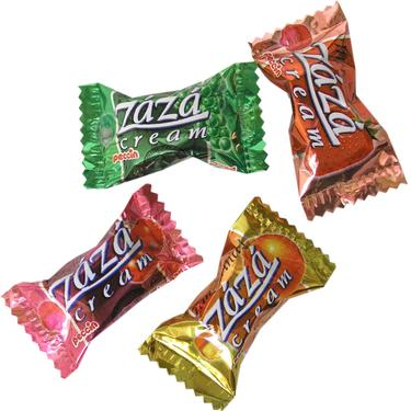 Zaza Filled Chewy Creme Taffy
