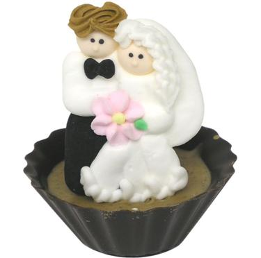 Bride & Groom Chocolate Miniature