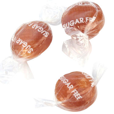 Sugar-Free Rum Butter  Flavored Hard Candy