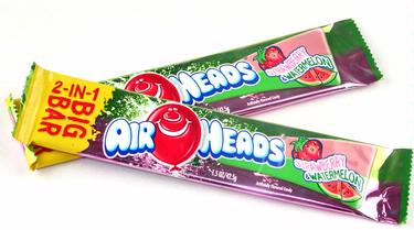 AirHeads 2-IN-1 Big Taffy Bars - Strawberry & Lemonade