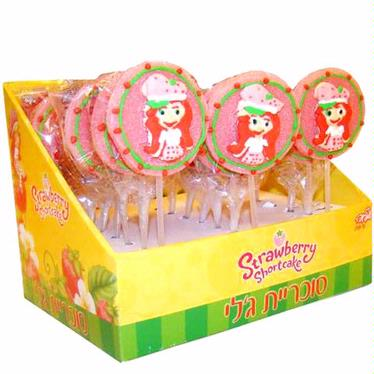 Strawberry Shortcake Jelly Pops - 24CT Display Box