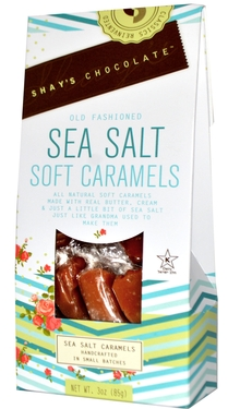 Old Fashioned Sea Salt Soft Caramels Gift Box