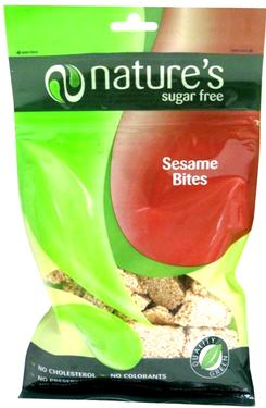 Sugar-Free Sesame Brittle Bites Bag