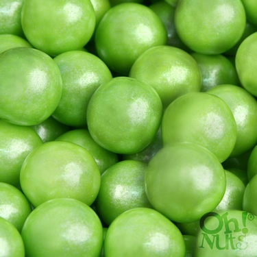 Lime-Green Pearl Gumballs