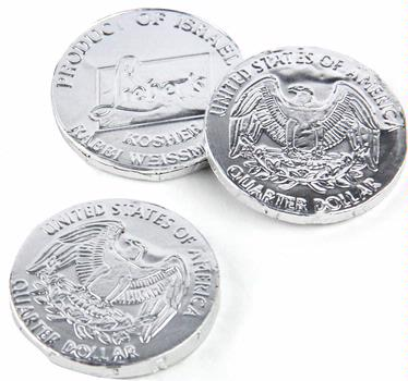 Passover Dark Chocolate Coins - 2 oz