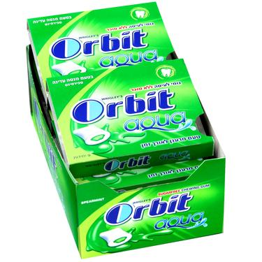 Orbit Aqua Spearmint Gum Pellets - 10CT Case