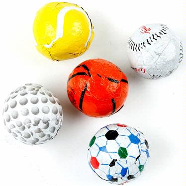 Milk Chocolate Sport Ball Mix