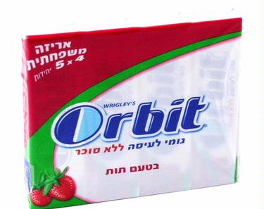Orbit Strawberry Multi-Pack Gum Sticks