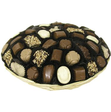 Sugar Free Chocolate Truffle Wicker Gift