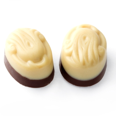 Sugar Free White Two Tone Truffles