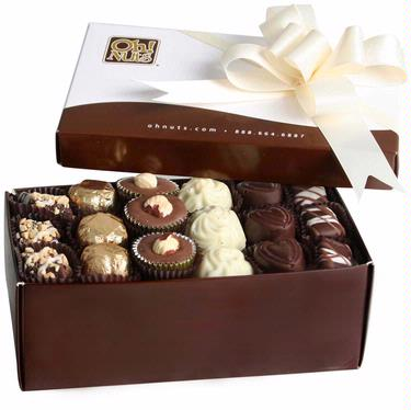 Israel Chocolate Truffle Gift Box - 18 Pc.