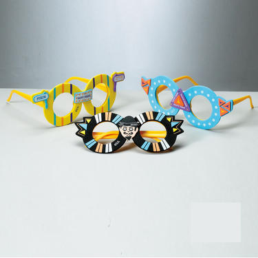 Purim Glasses - 3PK