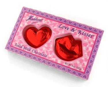 Love & Kisses Milk Chocolate Gift Box