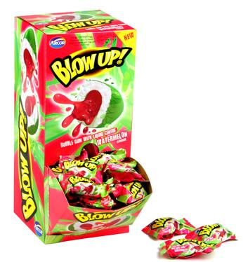 Watermelon Bubble Gum - 120CT Display