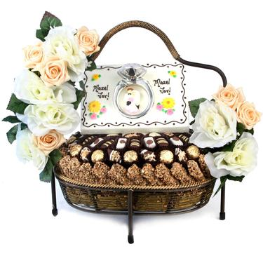 Wedding 1-Tier Gift Arrangement