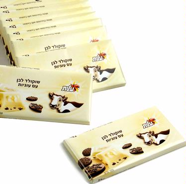 Elite White Milk Chocolate with Cookies - 12CT Box