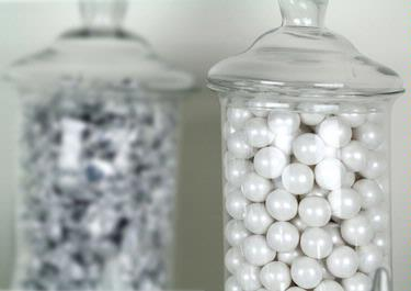 White Pearl Gumballs