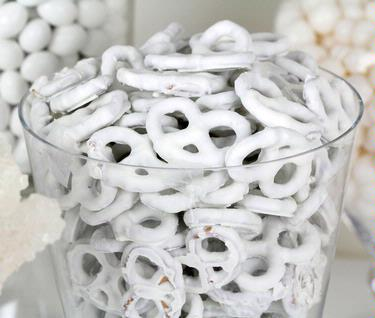 White Yogurt Covered Pretzels