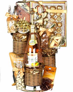 Wicker Stacker - Purim Gift