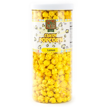 Yellow Caramel Popcorn - Banana