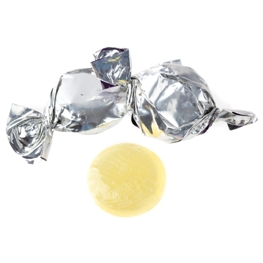 Silver Fruit Flashers Hard Candy - Pineapple