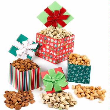 Holiday Gourmet Nut Gift Boxes