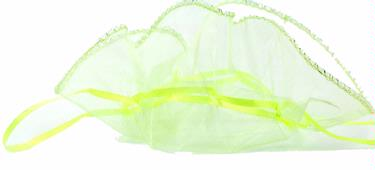 Light Green Organza Bags - 12-Pack