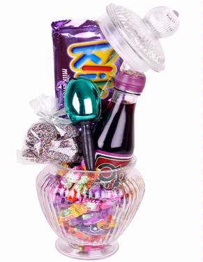 Glitzy Glass Jar - Mishloach Manos