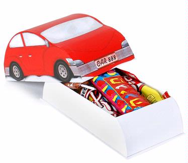 Purim Nosh Car - 8-Pack
