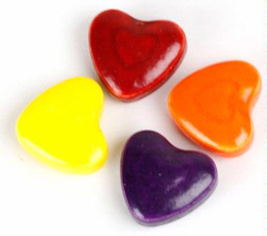 y Hearts Pressed Candy