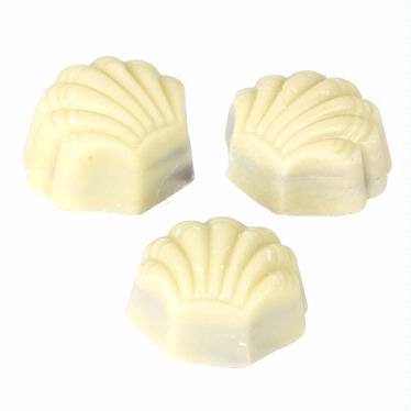 White Seashell Praline Chocolate Truffles - 5 LB Box
