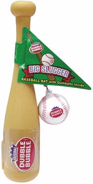 Big Slugger Baseball Bat with Gumballs