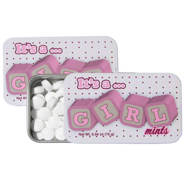It's A Girl Mints