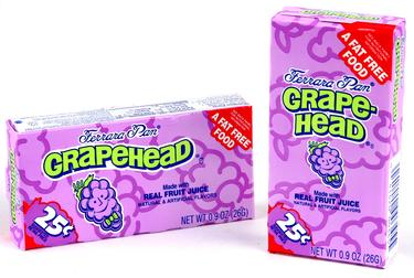 Grapeheads Mini Candy Balls