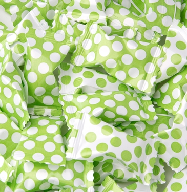 Green Dots Butter Mints