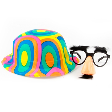 Kid Fun Purim Hat & Mask Basket