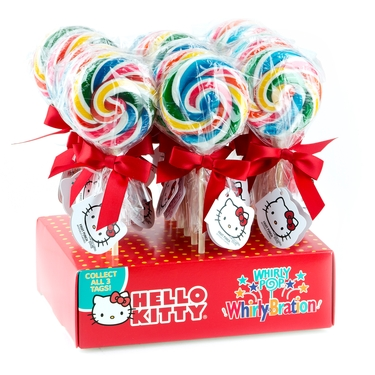 Hello Kitty Whirly Pop - 24CT Display box