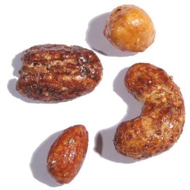 Passover Honey Glazed Mixed Nuts