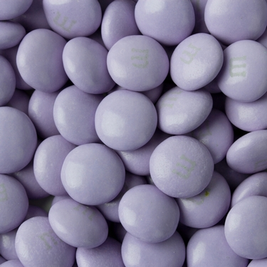 Lavender M&M's Chocolate Candy
