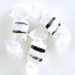 Black Salt Water Taffy - Licorice