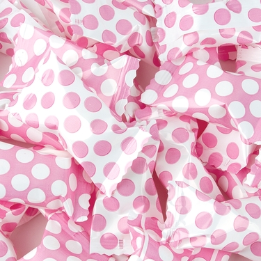 Light Pink Dots Butter Mints
