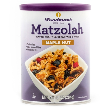 Passover Matzolah Maple Nut Granola